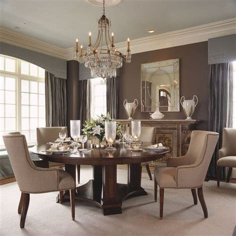 Blue Dining Room Houzz Alexandria Beige With Blue Ceiling Dining Room