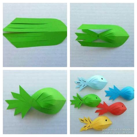 Origami Tropical Fish - best 25 origami fish ideas on koi origami