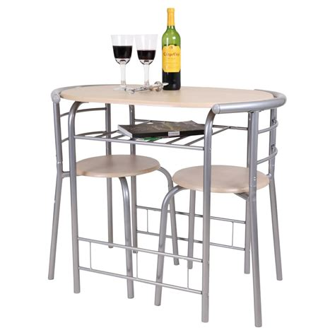 Kitchen Bistro Table And Chairs Chicago 3 Dining Table And 2 Chair Set Breakfast Kitchen Bistro Bar Ebay