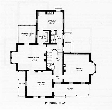 floor plans victorian homes victorian style home plans designs