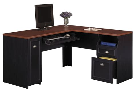 Black Corner Office Desk by Black Desk Black Corner Desk