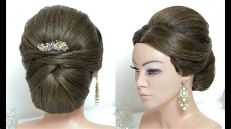 cute hairstyles puff beautiful hairstyles with puff easy wedding updo