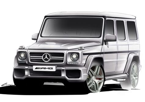 G Wagon Sketches by The G 63 Amg Is One Of The Most Powerful Suvs Made