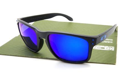 Kacamata Oakle Holbrook Black Polarized oakley holbrook matte black blue lens polarized