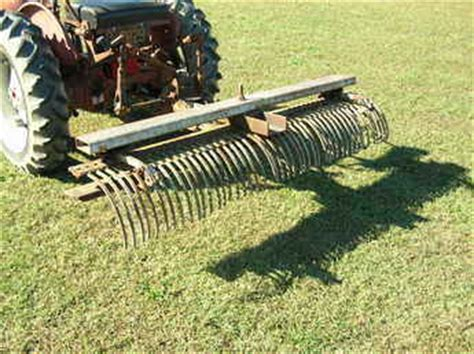 York Landscape Rake Parts Used Farm Tractors For Sale 1point Fasthitch York Rake