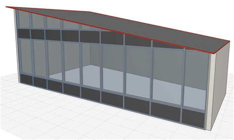 curtain wall roof archicad roof sc 1 st dedicated cad systems