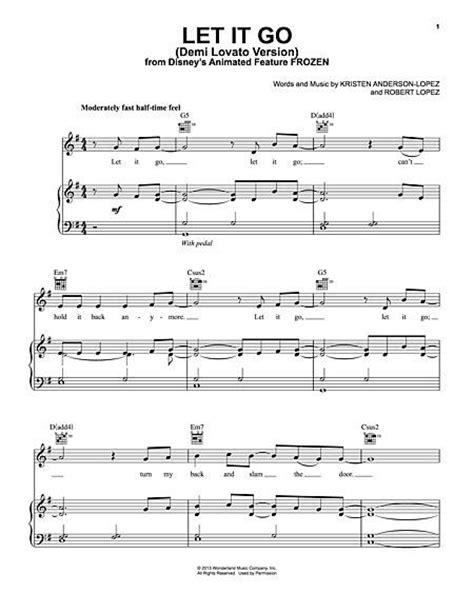 free printable sheet music let it go pinterest the world s catalog of ideas