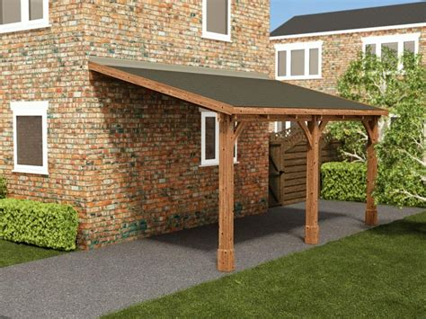 Zeus Lean to Carport W2.6m x D5.0m   Garages