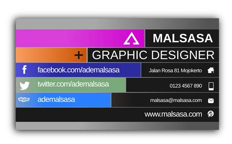 design kartu nama format psd free business cards templates psd business card sle