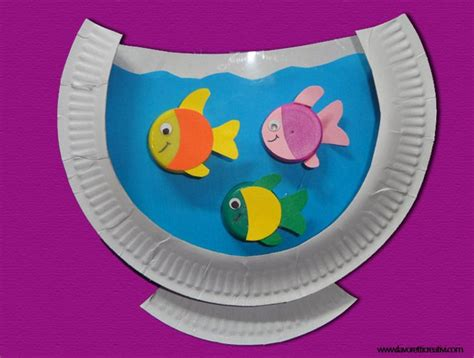 Paper Plate Aquarium Craft - 25 best ideas about aquarium craft on