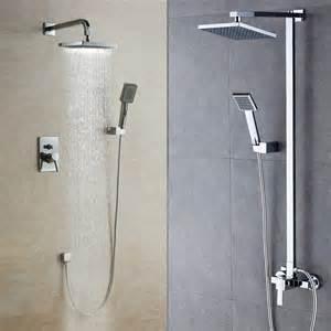 unterputz dusche fishzero dusche unterputz oder aufputz