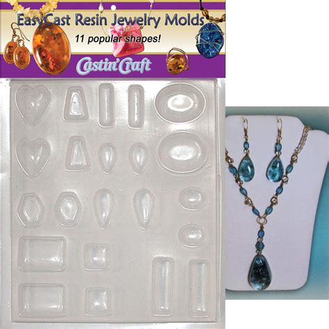 how to make a jewelry mold for silver castin craft jewelry mold 11 gem shapes