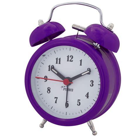 alarm clock colortime silver pylones
