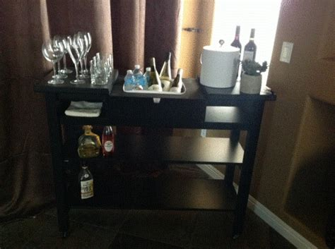 fabrikor hack ikea norden bar cart envy ikea hackers ikea hackers