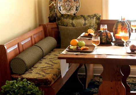 Banquette Cushions by Kitchen Cushions Custom Banquette Chair Cushions Add