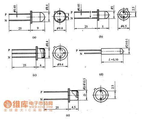 diode circuits basics 2cu silicon photosensitive diode appearance circuit basic circuit circuit diagram seekic