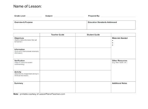 free editable weekly lesson plan template weekly lesson plan template 8 free word excel format