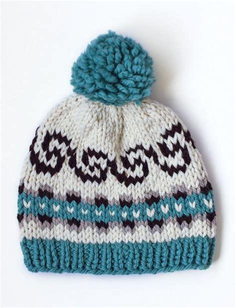 beginner fair isle knitting pattern seamless fair isle hat allfreeknitting