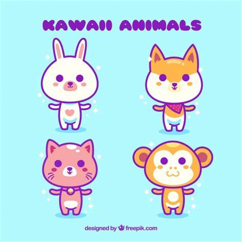 imagenes kawaii gratis colecci 243 n de animales kawaii descargar vectores gratis