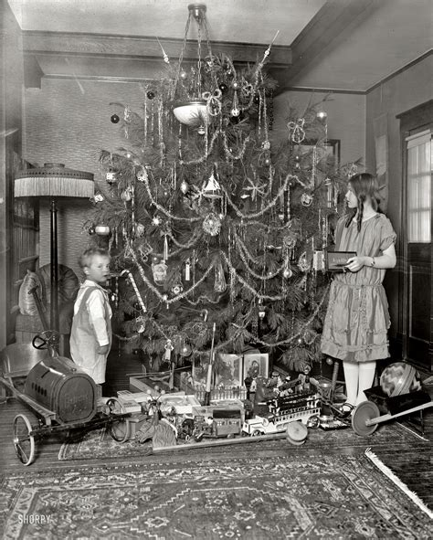 best dressed christmas tree for 1920 house vintage photos from the 1920s