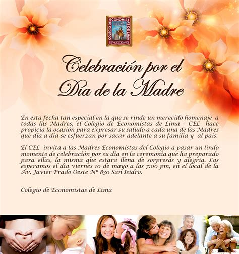 tarjeta de invitacion para el dia de los jardines celebraci 211 n por el d 205 a de la madre colegio de