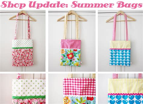 Shop Handmade - new items on my shop handmade summer bags luloveshandmade