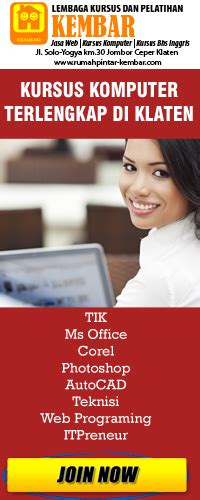 Buku The Missing Link Iklan C286 You Kursus Komputer Kursus Bahasa Inggris Bimbel Les