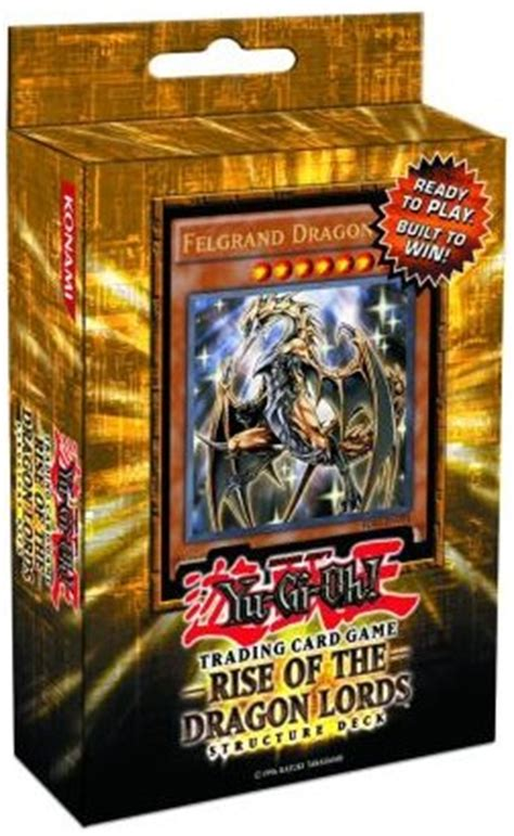yu gi oh drachen deck rise of the structure deck yu gi oh