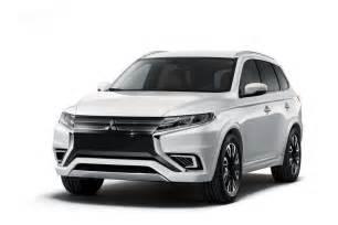 Mitsubishi Suv 7 Seater New Mitsubishi Outlander Suv Details Revealed Launching Soon