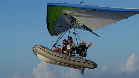 inflatable boat ultralight aircraft ultimate water toys the flying inflatable boat 26 north