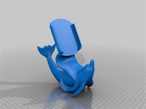 print model iphone   dolphin stand cgtrader
