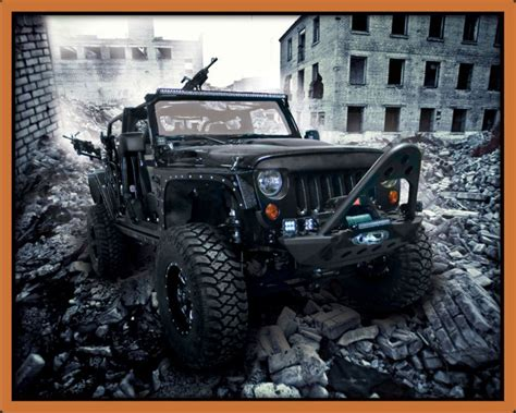 black military jeep xtreme outfitters jeep wrangler call of duty black ops 1