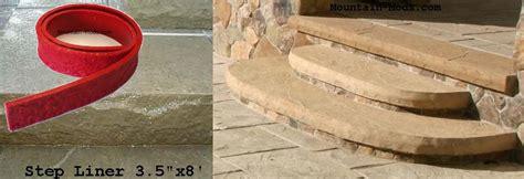 1 concrete cement granite step liner edge