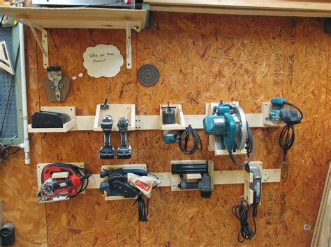 Power For Garage by Wilker Do S Diy Power Tool Storage System