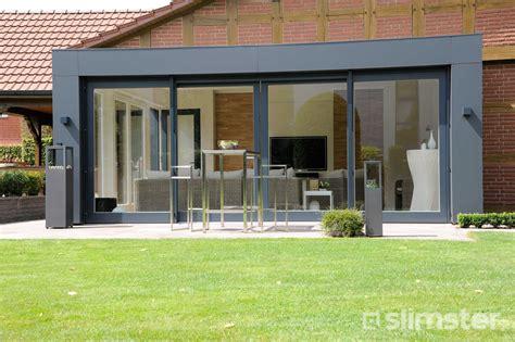 wintergarten modern moderne serre aanbouwen prijs per m2 serreaanbouw nl