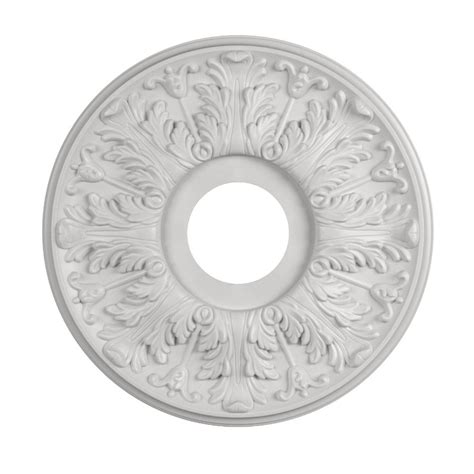 Lowes Ceiling Medallion by Shop Portfolio 15 88 In X 15 88 In Composite Ceiling