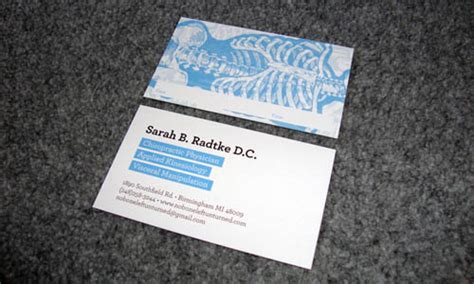 free business card template doctor 20 business cards design exles designmodo
