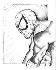 spiderman sketch by maus by billmausart on deviantart