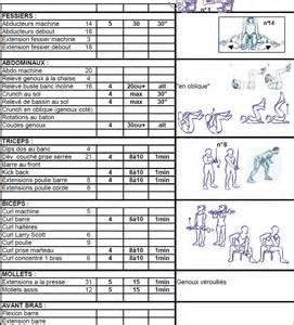 programme musculation seche pdf free bonus