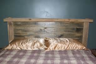 Rustic Wood Headboard Reclaimed Rustics Rustic Headboard
