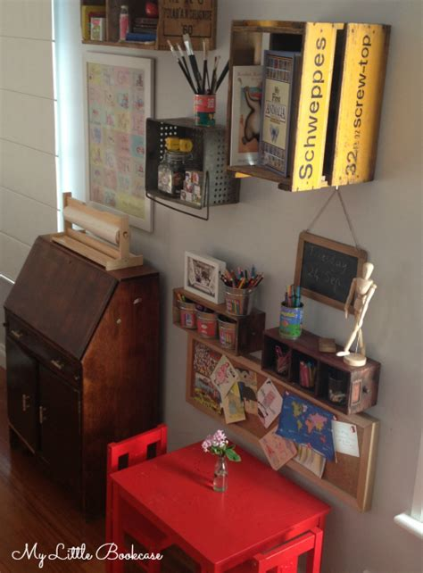 how to create a writing station for children my