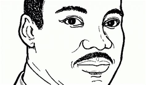 mlk coloring page free coloring home caricature martin luther king coloring pages dr martin