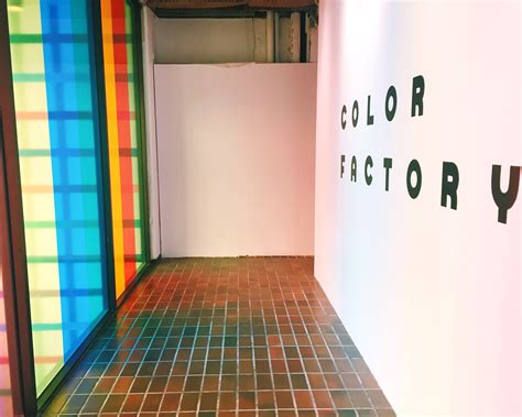 color factory what you need to about visiting the color factory a