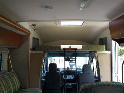 our 1st remodel class c motorhome rv remodel pottery that time we remodeled our class c rv