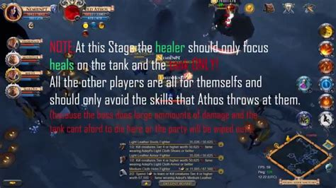 tutorial albion online albion online old athos boss fight tutorial youtube