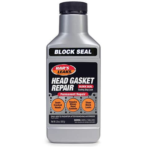 Bar Top Sealant by Bar S Products 1100 Bars Leak Block Seal Gasket Autoplicity