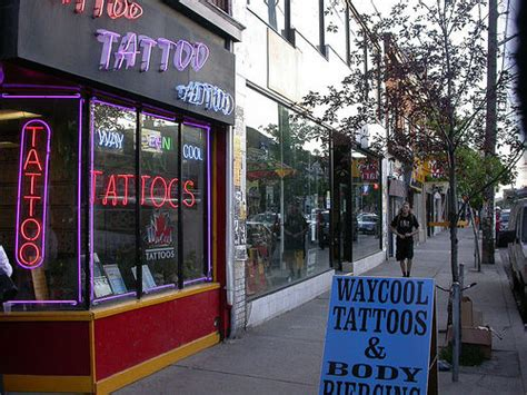 tattoo parlour queen st toronto tattoo shop on queen st flickr photo sharing