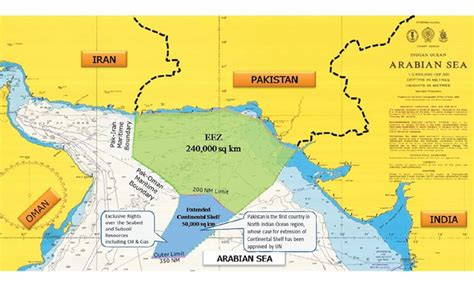 Continental Shelf Of India by Pakistan Maritime Boundary Pakistan S 5th Largest