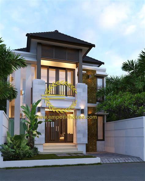 desain rumah 10 x 20 m desain rumah 2 lantai 4 kamar lebar tanah 8 meter dengan
