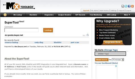 Mail Server Ip Address Lookup Beyaz Bilgisayar Ipucu Mail Server Sunucu Yayını Yapan